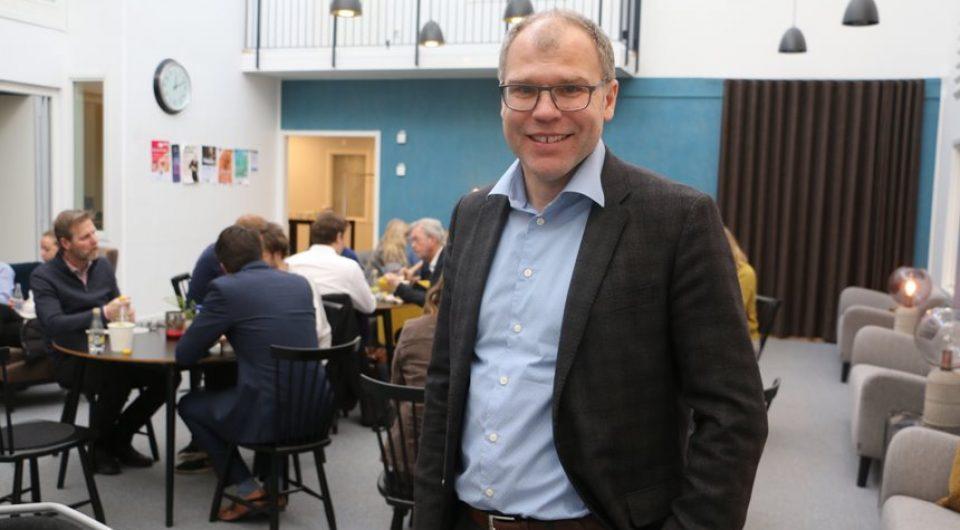 Jens Lundström, vd för Arctic Business som arrangerade helgens rymddatahack. Foto: Lennart Håkansson
